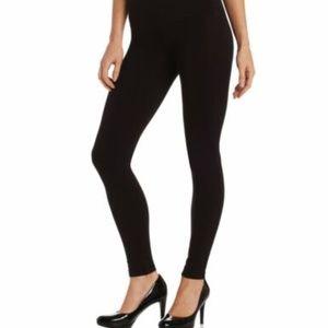 Hue Women's Tummy Shaping Legging, Black, small